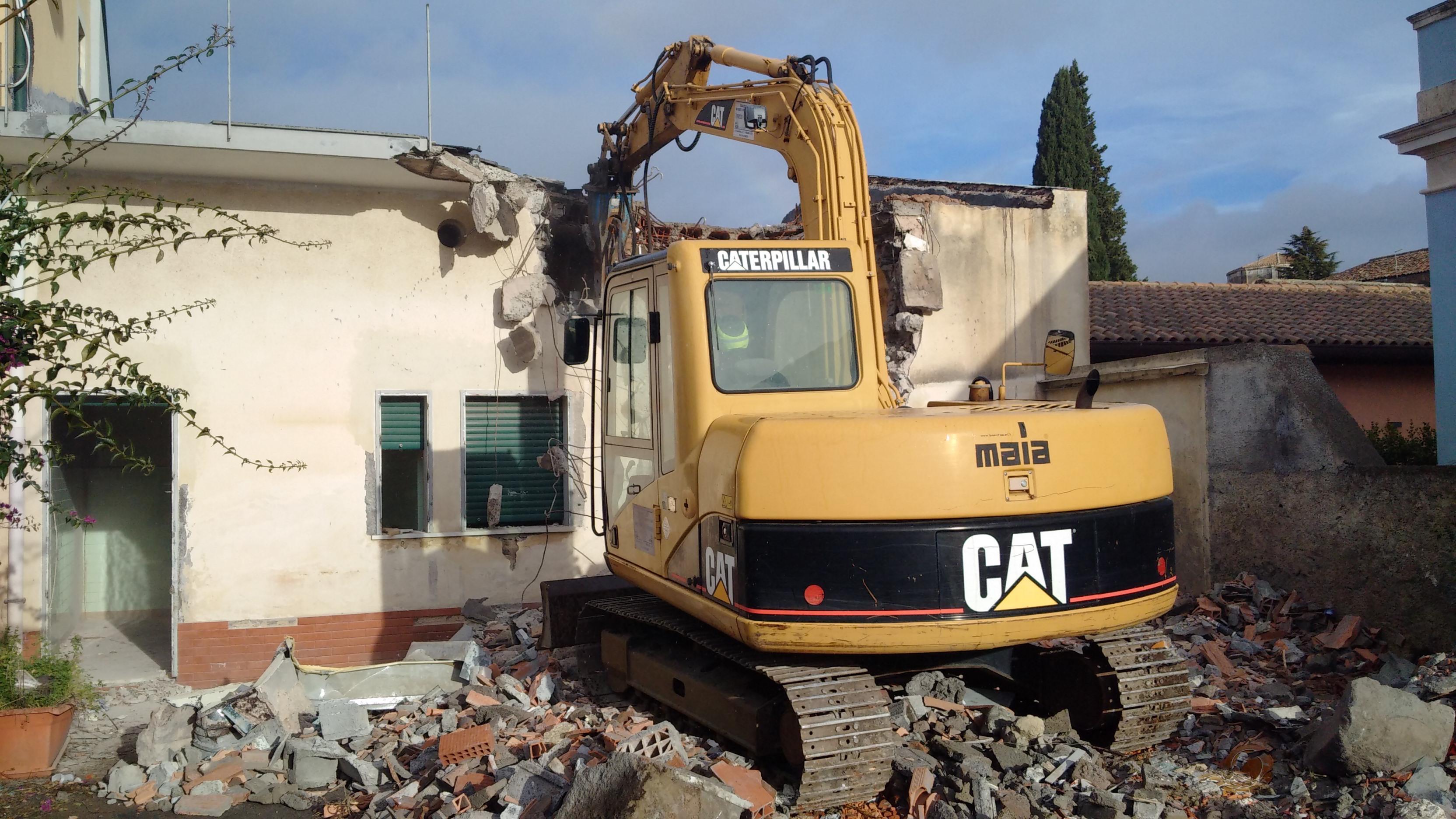 Imprese Di Costruzioni Catania demolizioni-edili